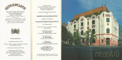 Meghívó az Ezeréves egyházmegyéink c. kiállítás-sorozat Veszprémi Főegyházmegye kincsei című kiállítására