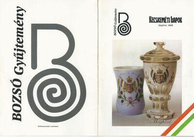 Meghívó a Bozsó Gyűjtemény állandó kiállításának ism. átadására és a Nemzeti jelképeink a művészetben c. kiállításra