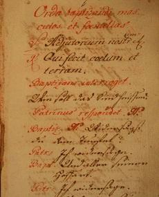 Sacramentarium et benedictionalae