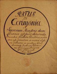 Ritus et Cerimonia