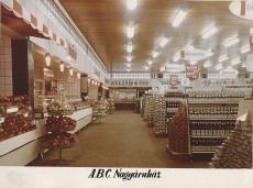 ABC nagyáruház Budapest 1975.