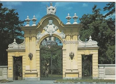 Keszthely Festetics Kastély kapuja