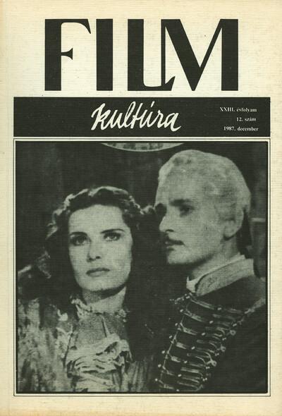 Filmkultúra 1987/12. szám