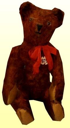 Piros masnis barna maci