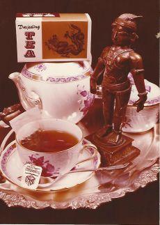 Compack tea reklám Budapest 1982.