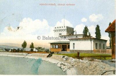 Fonyód-Fürdő, Gőzhajó váróterme