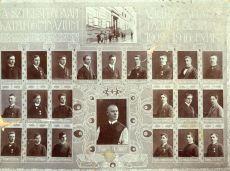 Ciszter Gimnázium tabló