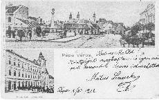 Levelezőlap, Pápa
