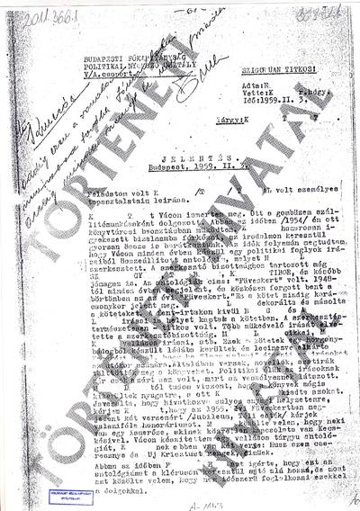 K. T. Tibor szerepe a beregszászi zsidók deportálásában