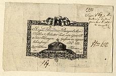 Prandtner pesti ezüstműves számlája, 1802