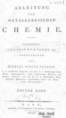 Anleitung zur metallurgischen Chemie 1. Bd.