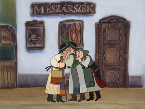 Magyar népmesék VIII. sorozat Forgatókönyv és figuratervek
