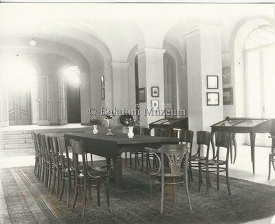 A Balatoni Múzeum előcsarnoka