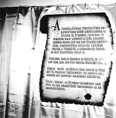 Egykori MVM vendéglátóipari kiállítás Budapest 1967.