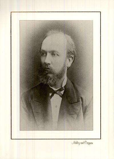 Stühmer Frigyes ipari úttörő, cukorka- és csokoládégyáros portréja, XIX. század második fele