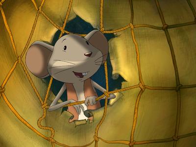 A világlátott egérke Forgatókönyv/The Widely Travelled Little Mouse Screenplay