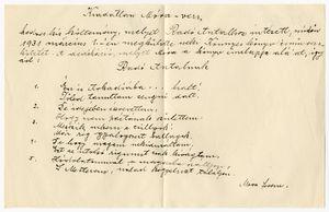 Móra Ferenc levelezése
