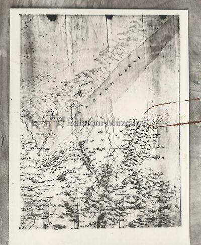 Natale Angelini térképe a XVI. századból