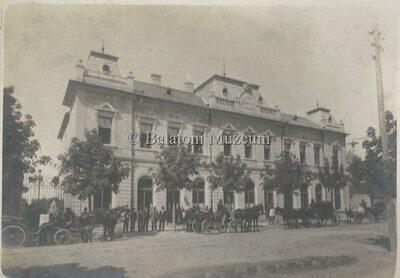 Keszthely, Csányi Szálloda, Deák Ferenc utca