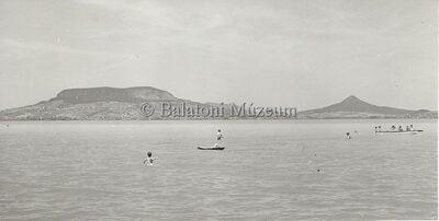 Badacsony, Tótihegy, Csobánc a Balatonról
