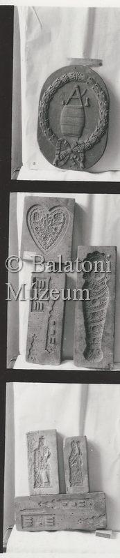 Faragások, mézeskalács minták a Balatoni Múzeum néprajzi gyűjteményéből