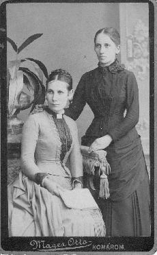 Két fiatal hölgy portréja, Komárom