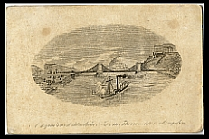 Hídbelépő a Lánchídra, 1840-es évek
