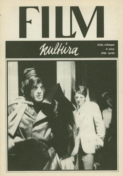 Filmkultúra 1986/4. szám