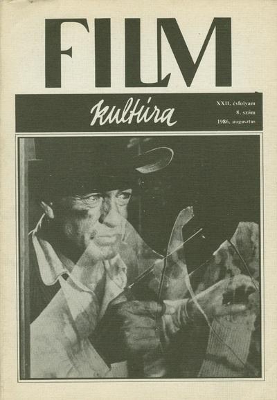 Filmkultúra 1986/8. szám