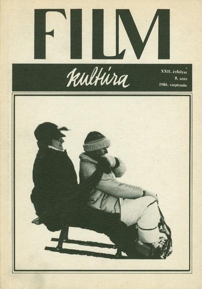 Filmkultúra 1986/9. szám