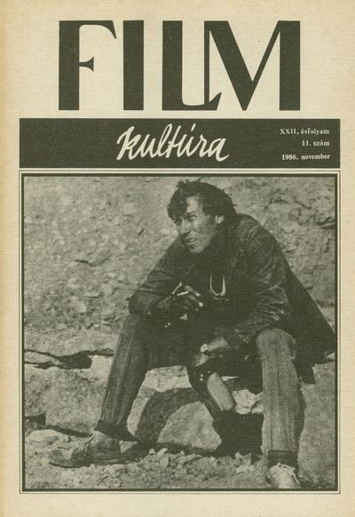 Filmkultúra 1986/11. szám
