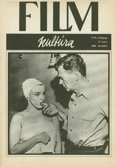 Filmkultúra 1986/12. szám
