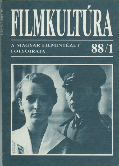 Filmkultúra 1988/1. szám