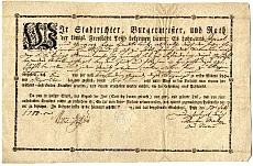 Zöldségkereskedő hadiszállító szállítási engedélye, 1788