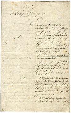 Wőber [Woeber] Mihály folyamodványa vállalatalapításra, 1813