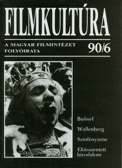 Filmkultúra 1990/6. szám