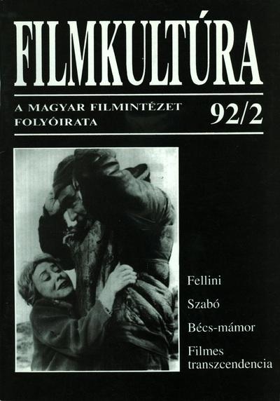 Filmkultúra 1992/2. szám