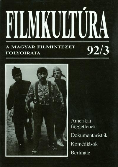 Filmkultúra 1992/3. szám