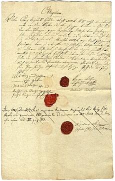 Kötelezvény (telekhivatal részére), Pest, 1825