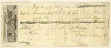 Váltócédula, Pest, 1842