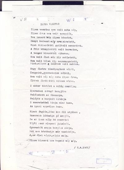 W.-né D. Várda versei