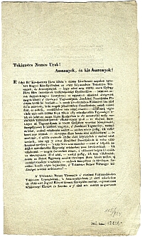 Pest vármegyei jegyzőkönyvi kivonat / Jász megyei közbirtokosság, 1839