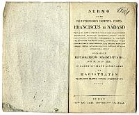 Nádasdy Ferenc beszéde a magisztrátus beiktatásakor, Buda, 1828