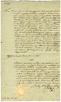 Budai tanácsi jegyzőkönyvi kivonat a követválasztással kapcsolatban, 1847