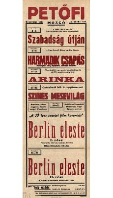 Petőfi Mozgó programjai 1949. november 2-29-ig