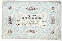 A Közhasznu Gyülde tagsági lapja, 1846