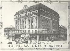 Astoria Szálló, Budapest 1914.