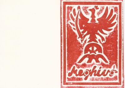 Meghívó a II. Rákóczi Ferenc Általános Iskola képzőművészeti kiállítására, a névadó szobor avatására és emlékműsorra