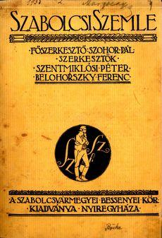 Szabolcsi Szemle 1934 2