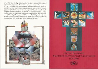 Jubileumi Zománcművészeti Konferencia a Bács-Kiskun Megyei Önkormányzat Nemzetközi Zománcművészeti Alkotótelepe rendezésében